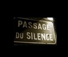 passagem silencio